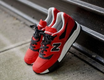 New Balance M998 – Red/Black