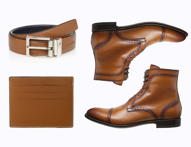 Shoes & Accessories by Color Cognac at MYHABIT
