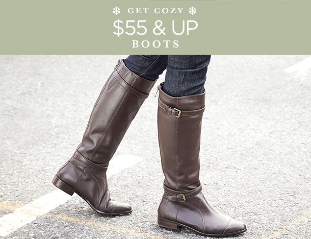$55 & Up Boots at MYHABIT