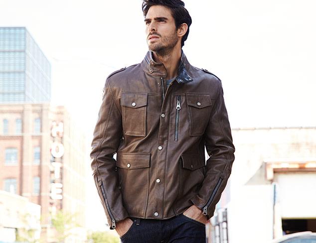 City Staple Leather Jackets at MYHABIT
