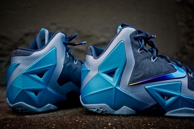 Nike Lebron XI - Gamma Blue_5