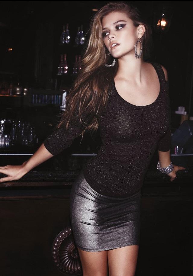 Nina Agdal for BeBe Black Friday 2013 Lookbook