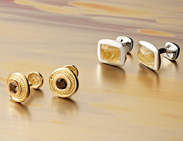 Rotenier Semi-Precious Cufflinks at MYHABIT