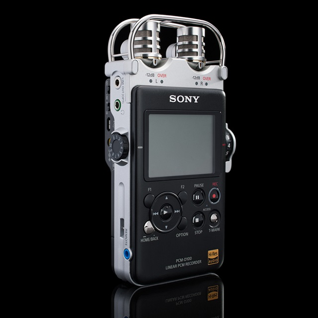 SONY PCM-D100 Portable High Resolution Audio Recorder_4