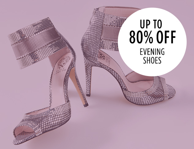 Up to 80 Off Evening Shoes at MYHABIT