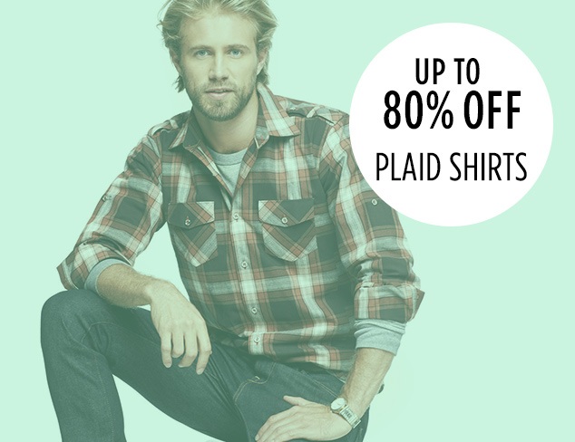 Up to 80 Off Plaid Shirts at MYHABIT