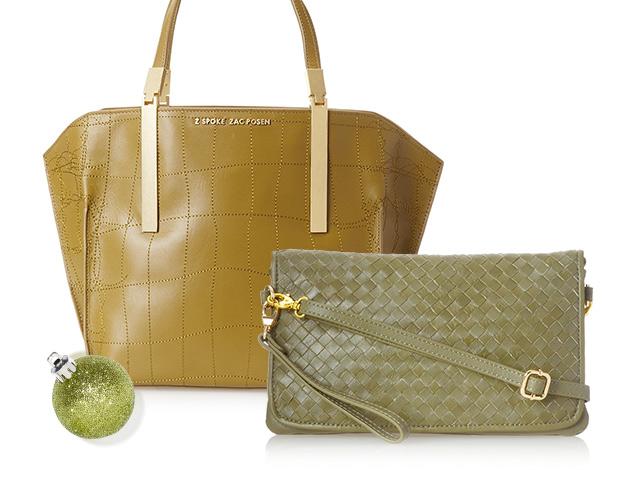 Military Hues Handbags at MYHABIT