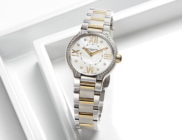 Raymond Weil Noemia Two tone Diamond Dial Watch