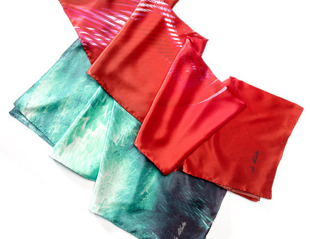 Silk Scarves by de Blake at MYHABIT