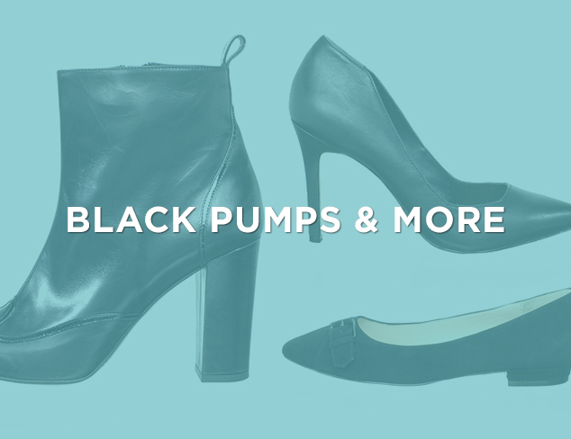 Up to 80 Off Black Pumps & More at MYHABIT