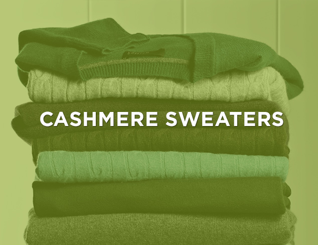 Up to 80 Off Cashmere Sweaters at MYHABIT