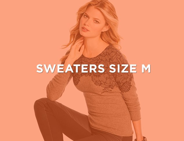 Up to 90 Off Sweaters Size M at MYHABIT