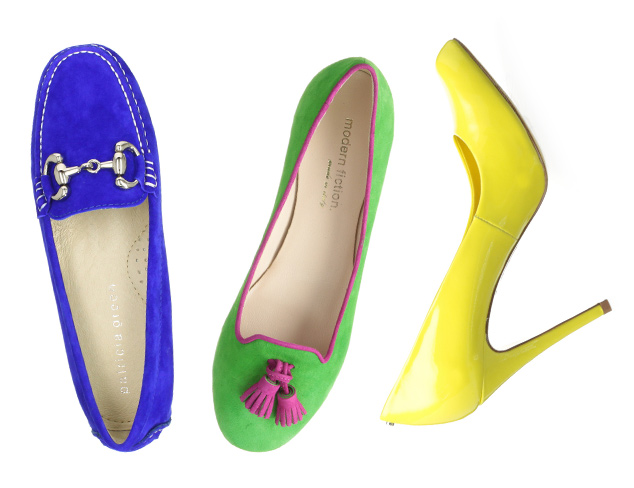 Vibrant Hues Shoes at MYHABIT