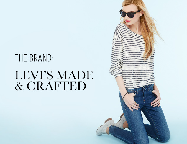 Denim Guide Levi's Made & Crafted at MYHABIT