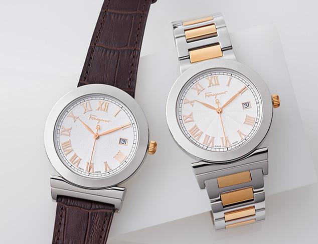Designer Timepieces feat. Versace at MYHABIT