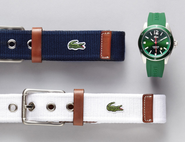 Everyday Accessories feat. Lacoste at MYHABIT