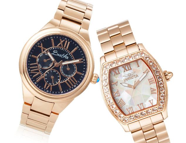 Golden Gleam Watches at MYHABIT