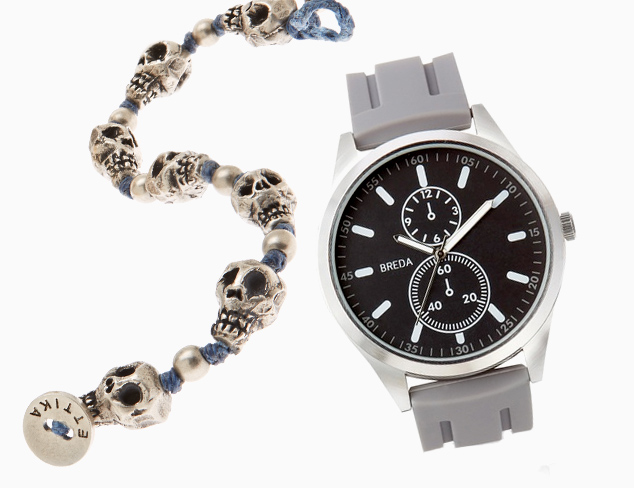 Layered Look Watches & Bracelets at MYHABIT