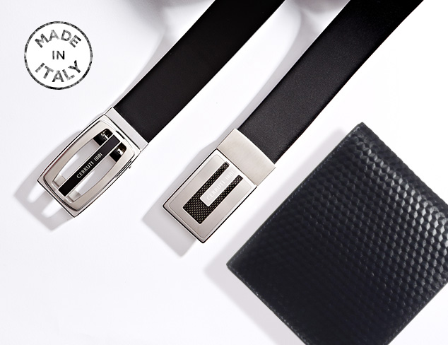 Made in Italy Belts & Wallets at MYHABIT