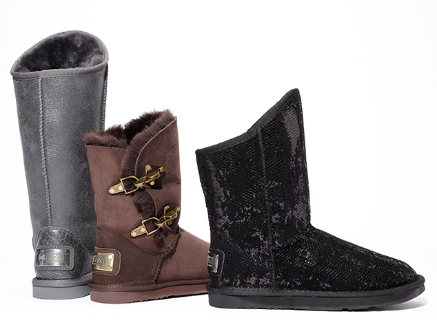 Warm Up Shoes with Shearling at MYHABIT