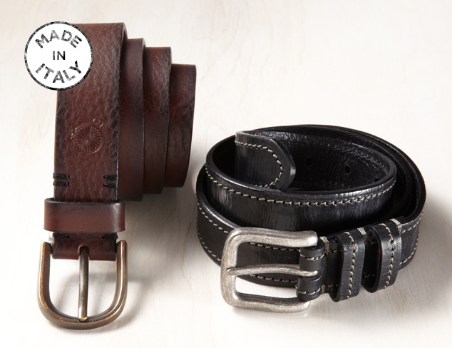 Made in Italy Maker & Co. Belts at MYHABIT