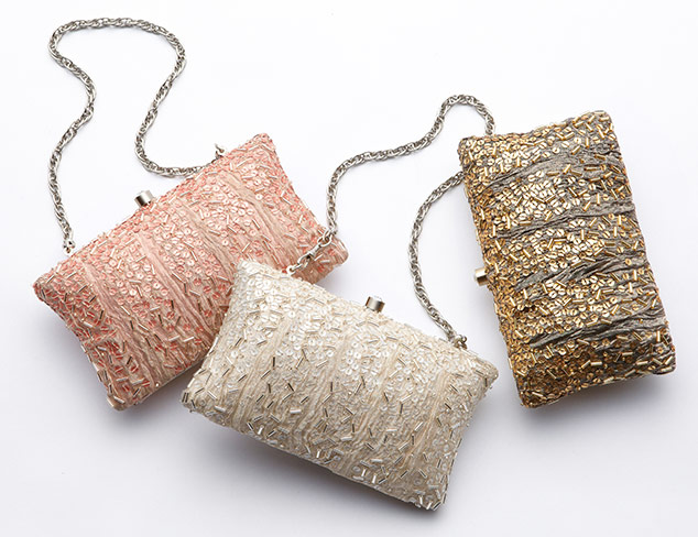 Party Perfect Clutches at MYHABIT