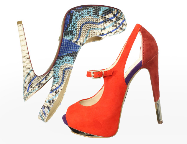 Shop by Height Sky-High Heels at MYHABIT