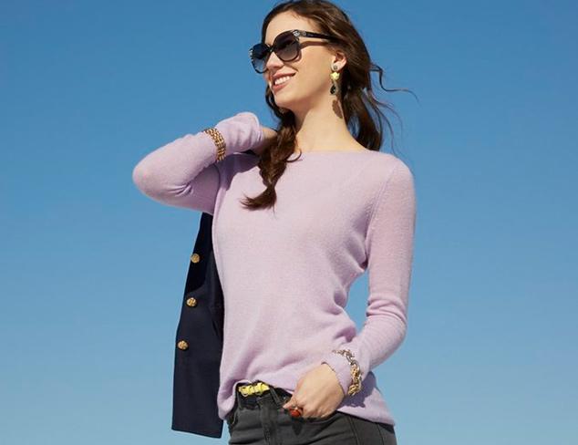 Spring Cashmere Kier & J Sweaters at MYHABIT