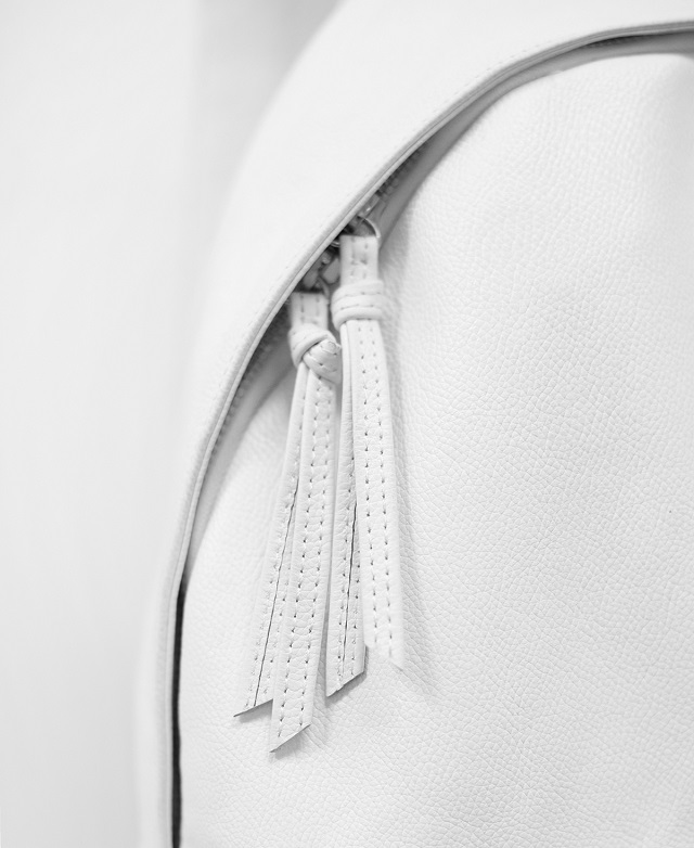 Stampd White Leather Backpack_3