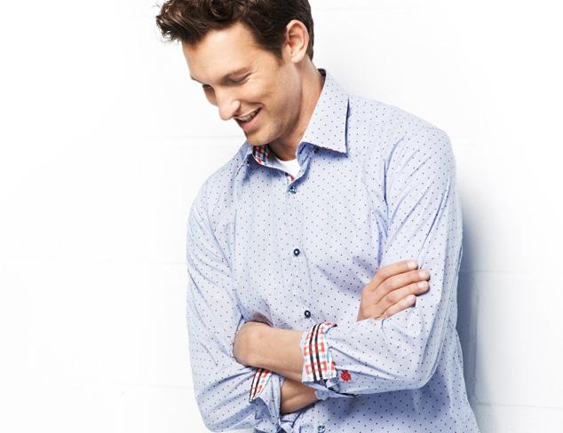 Crisp Cuts Button-Up Shirts at MYHABIT