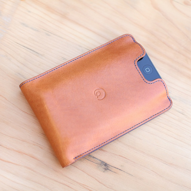 Danny P. Leather Wallet with iPhone 5 5S Case_4
