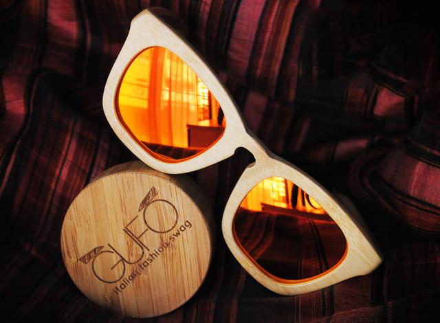 63bd977eeb47 GUFO fashion design Original Wooden Sunglasses | LifeStyle Fancy