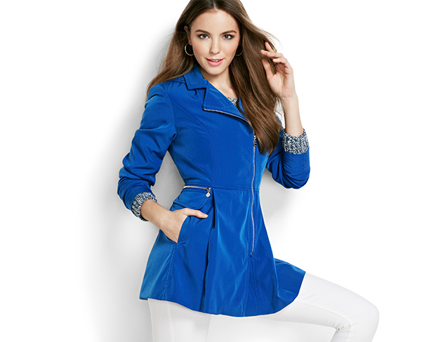 Kensie Spring Outerwear at MYHABIT
