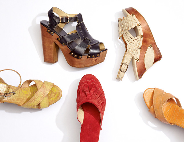 Luxe Leather Shoes feat. Chio & Biviel at MYHABIT