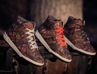 """Packer Shoes x Saucony """"Woodland Camo"""" Hangtime Hi"""