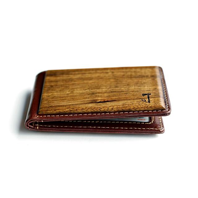 Slim Timber Zebrawood Bifold Wallet_2