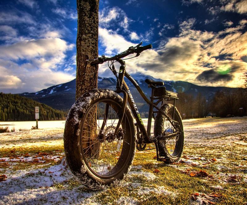 Surface 604 Element Wide Grip Electric Fat Bike