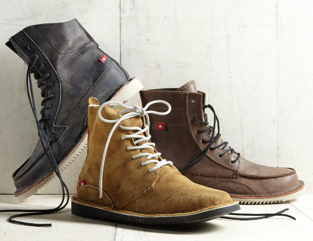 The Lace-Up Boot at MYHABIT