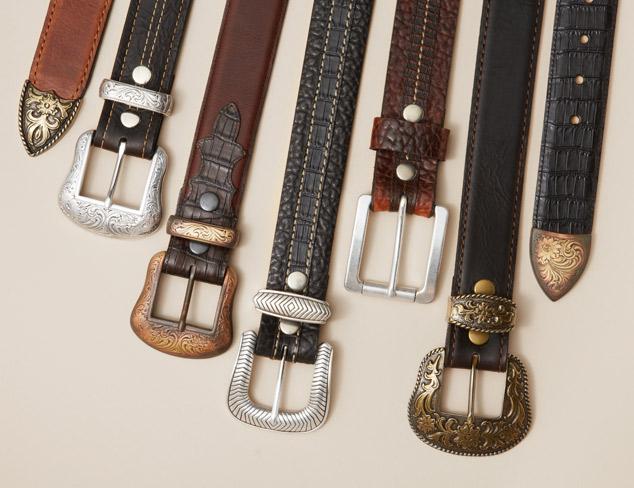 Vintage Bison USA Belts at MYHABIT