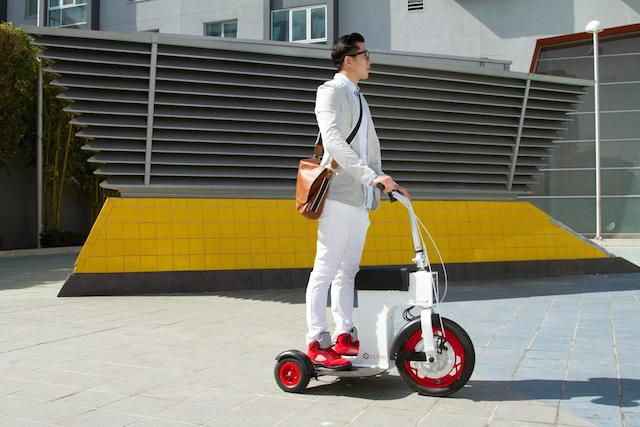 Acton Global World's Smallest Electric Vehicle