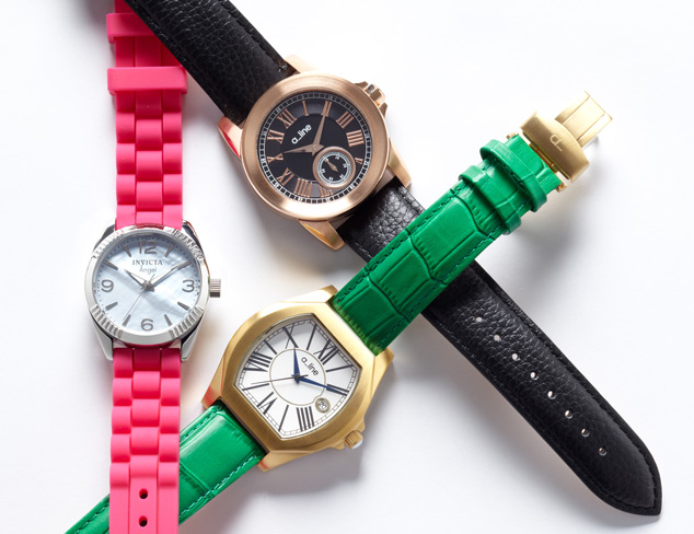 Cool & Casual Watches feat. Invicta at MYHABIT