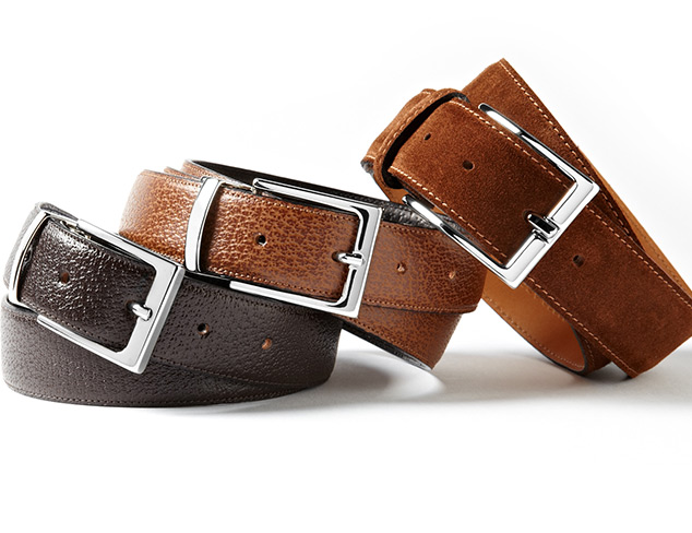 Luxe in Leather Belts at MYHABIT
