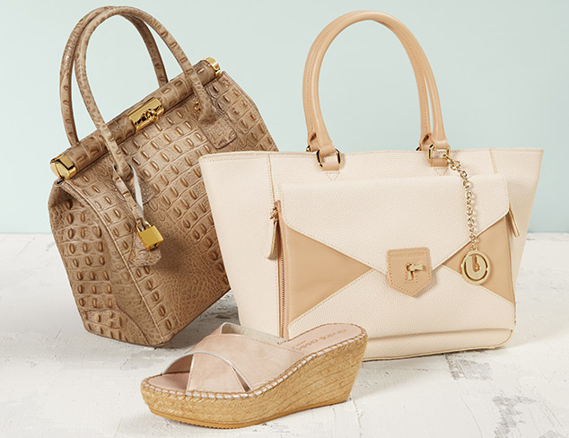 Nude & Neutral Shoes & Handbags at MYHABIT