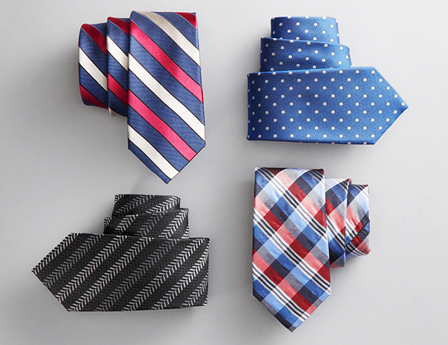 Patterned Ties & Pocket Squares at MYHABIT