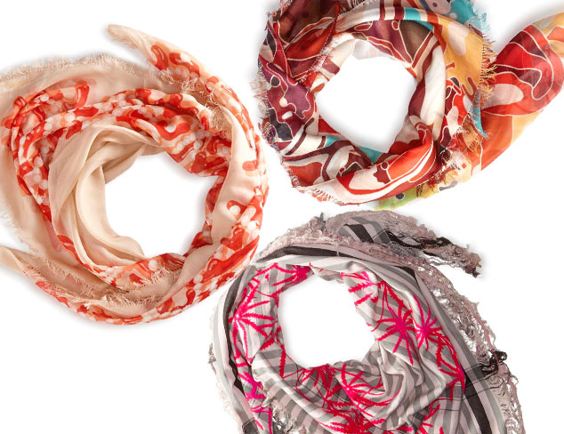 Shape Update Square Scarves at MYHABIT