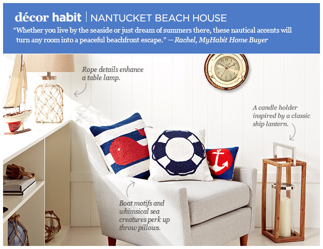 Décor Habit Nantucket Beach House at MYHABIT