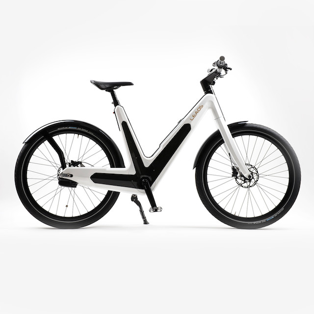 Leaos Advanced Electric Bikes White_1