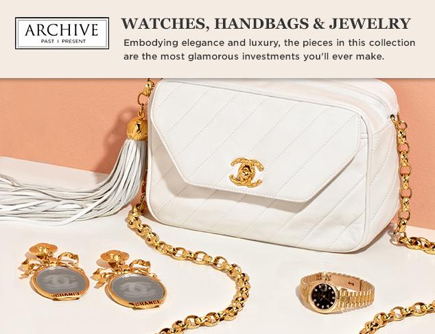 ARCHIVE Watches, Handbags & Jewelry at MYHABIT