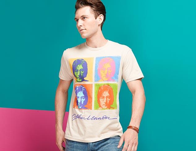 Casual Shirts feat. John Lennon at MYHABIT
