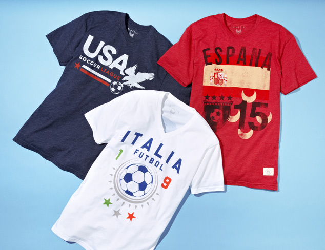 Cheer On Your Team Soccer T-Shirts at MYHABIT